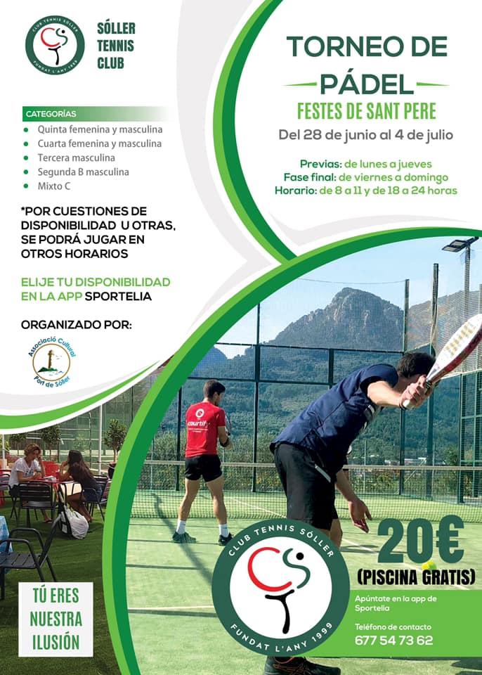 Torneo de pádel Sant Pere